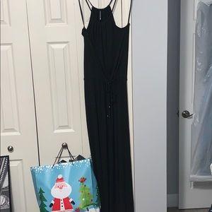 Cute long maxi tank dress